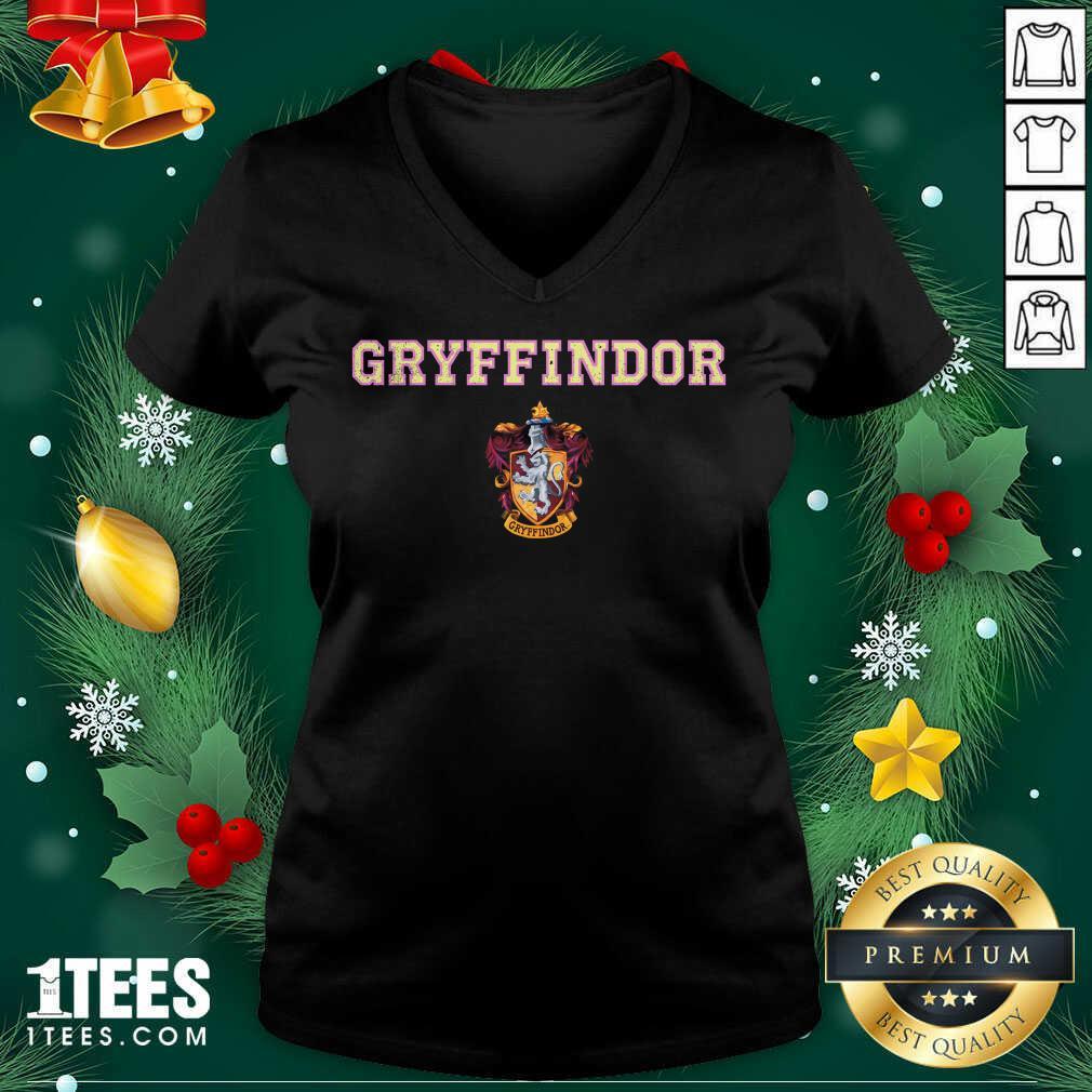 Gryffindor V-neck- Design By 1tees.com