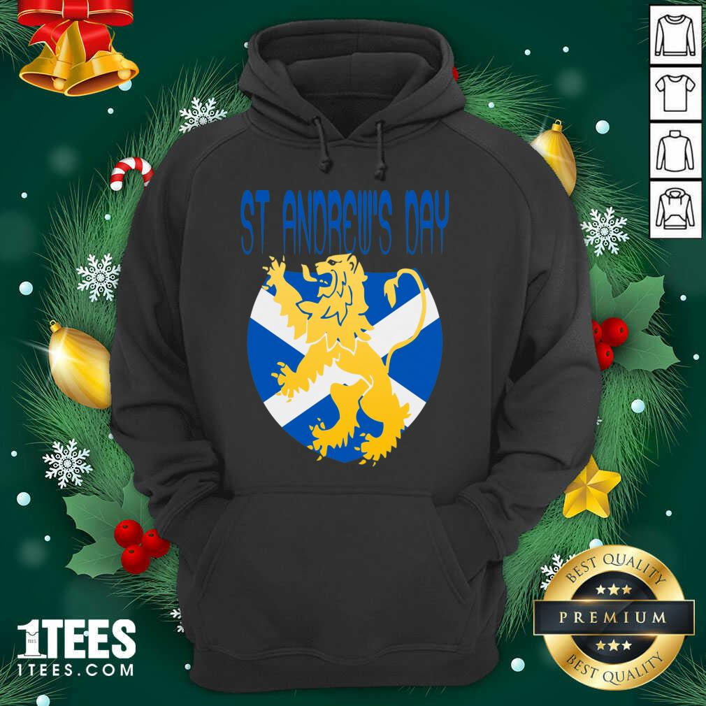 Happy St Andrews Day Hoodie- Design By 1Tees.com