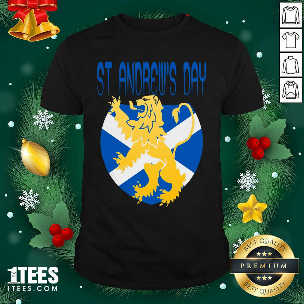 Happy St Andrews Day Shirt- Design By 1Tees.com