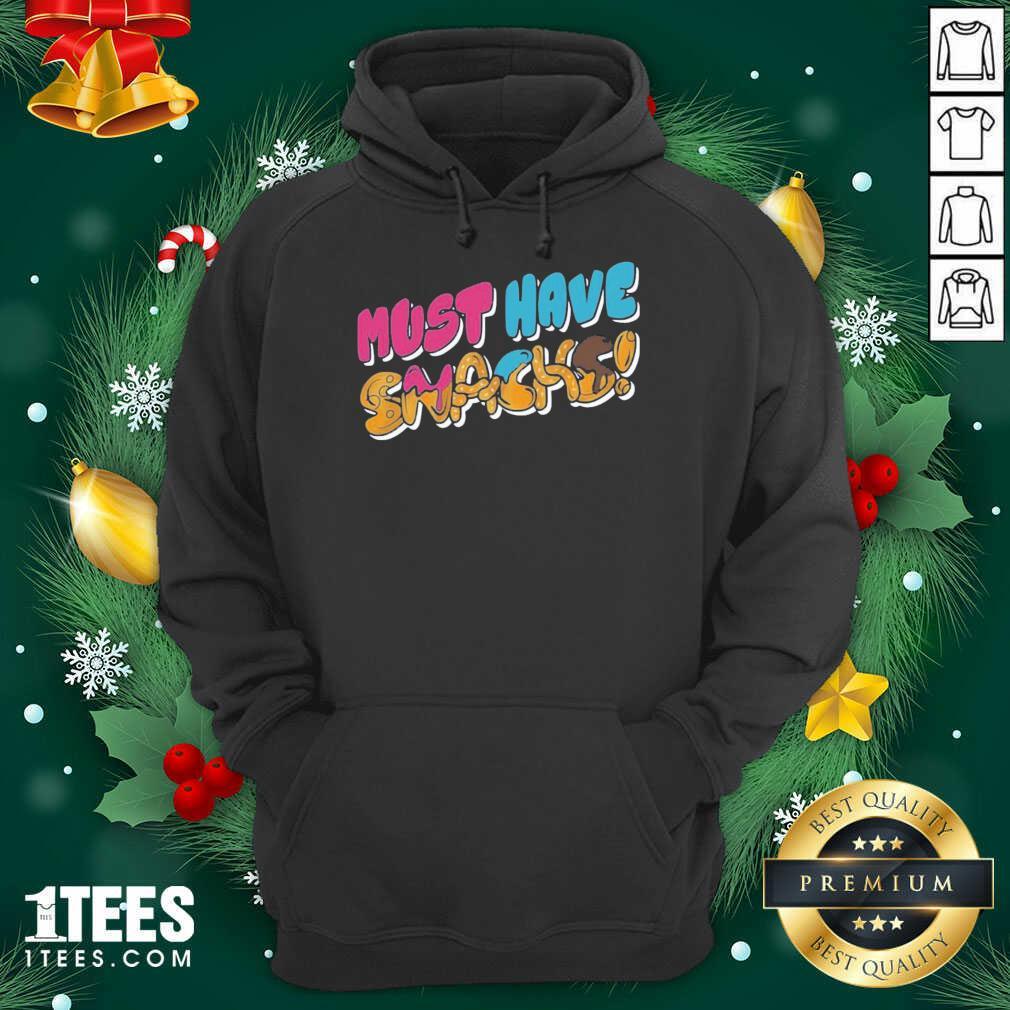 Morejstu Merch Jstu Must Have Snacks Hoodie- Design By 1Tees.com