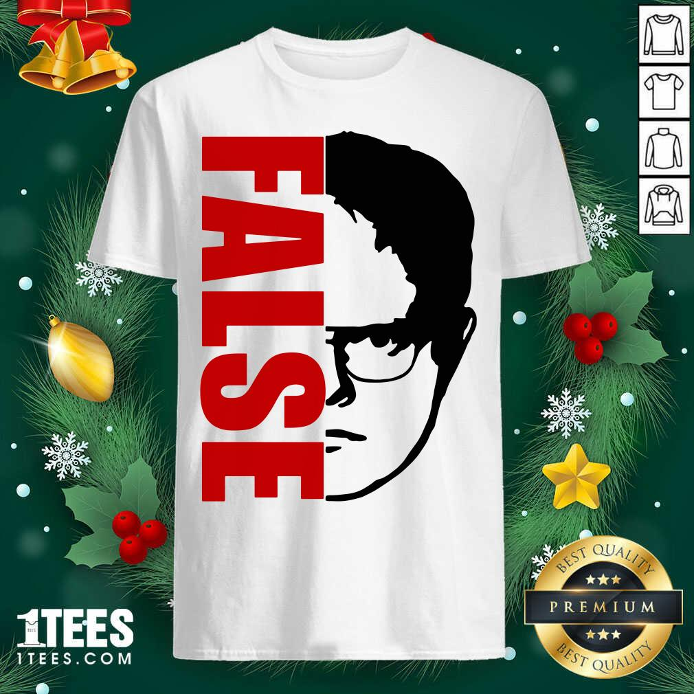 The Office Dwight Schrute False Shirt- Design By 1Tees.com