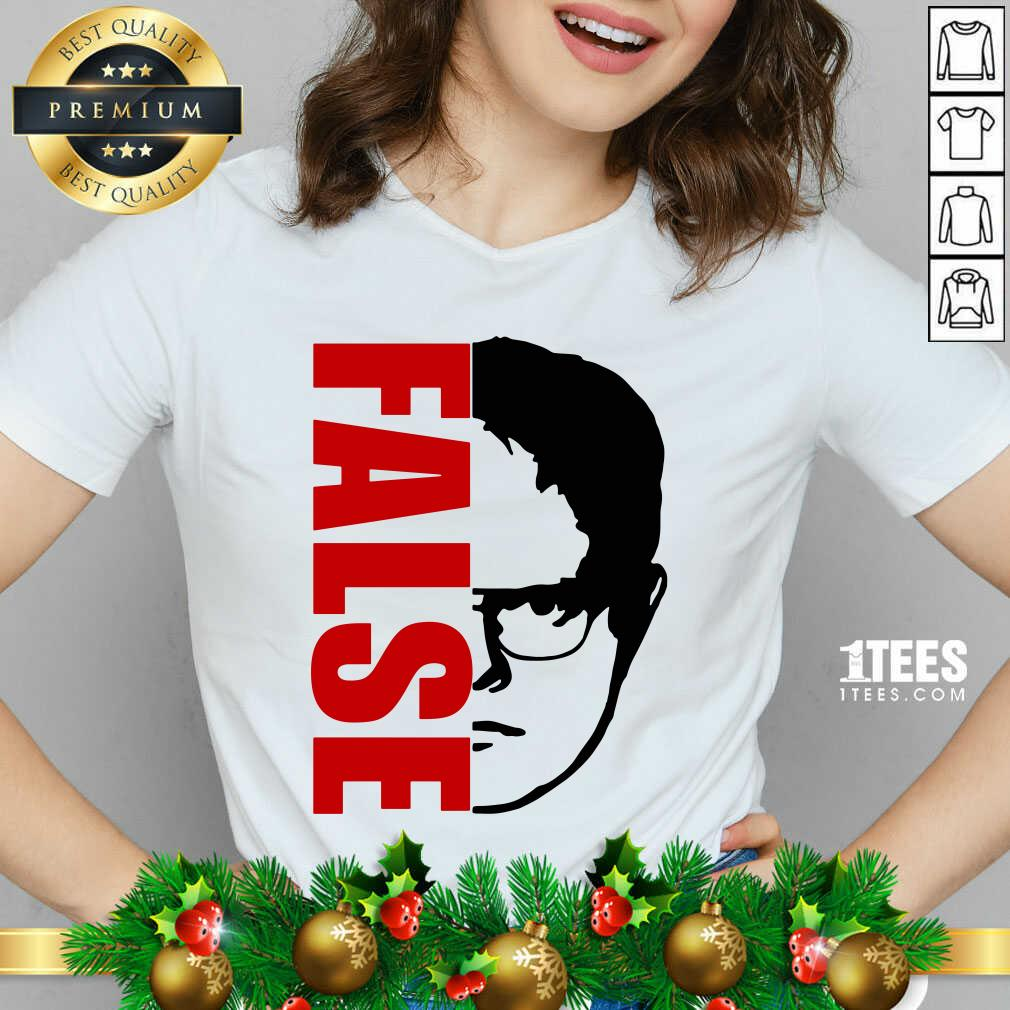 The Office Dwight Schrute False V-neck- Design By 1Tees.com