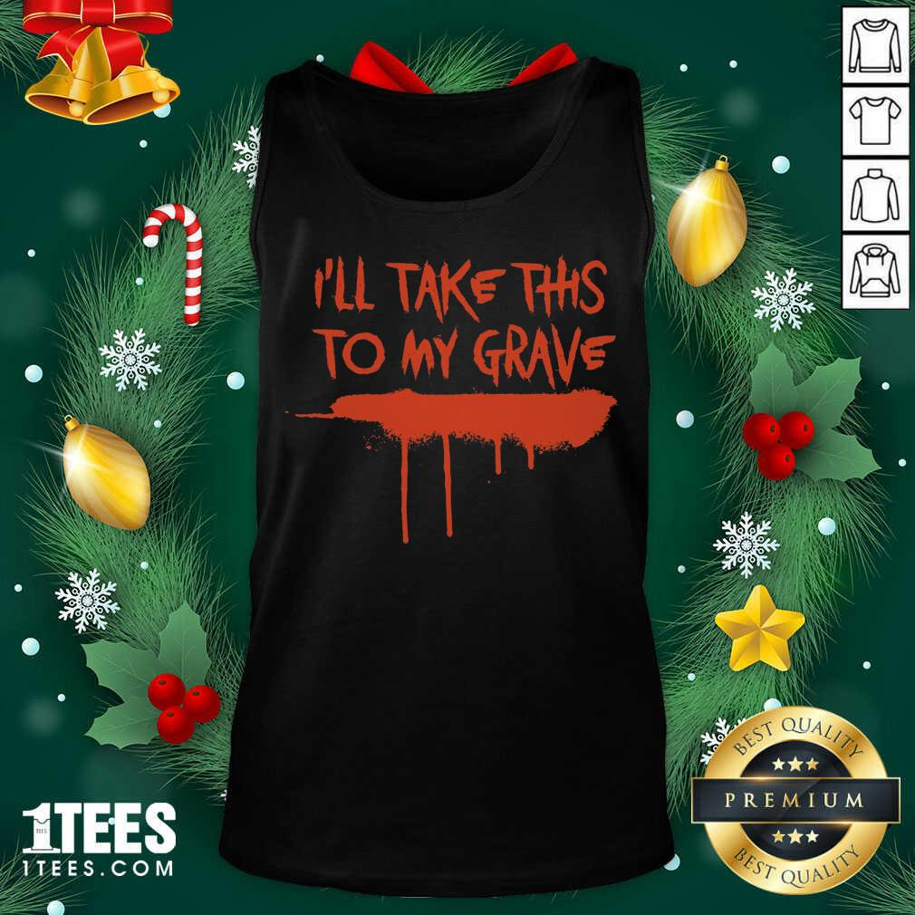 Motionless In White Merch I'll Take This To My Grave Tank Top- Design By 1tees.com