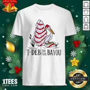 Santa Pelecanus T Deb On The Bayou Christmas Shirt- Design By 1Tees.com