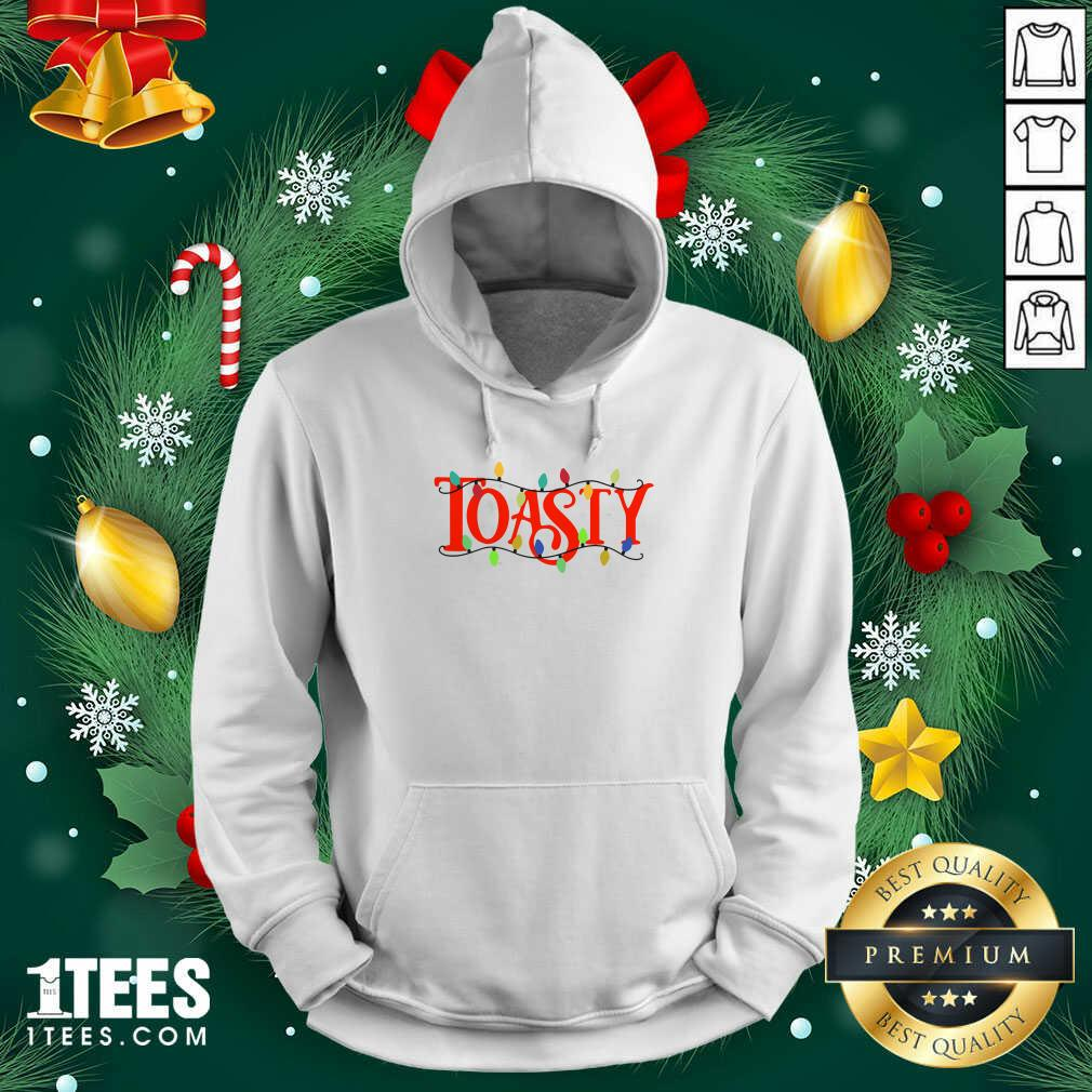 The Morning Toast Merch Hooded Ugly Christmas Hoodie- Design By 1Tees.com