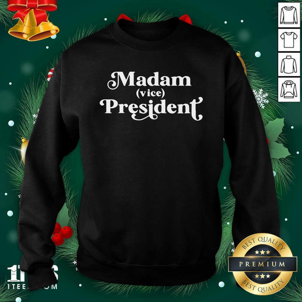 Vice President First Woman Vp Kamala Harris 2020 Sweatshirt- Design By 1Tees.com