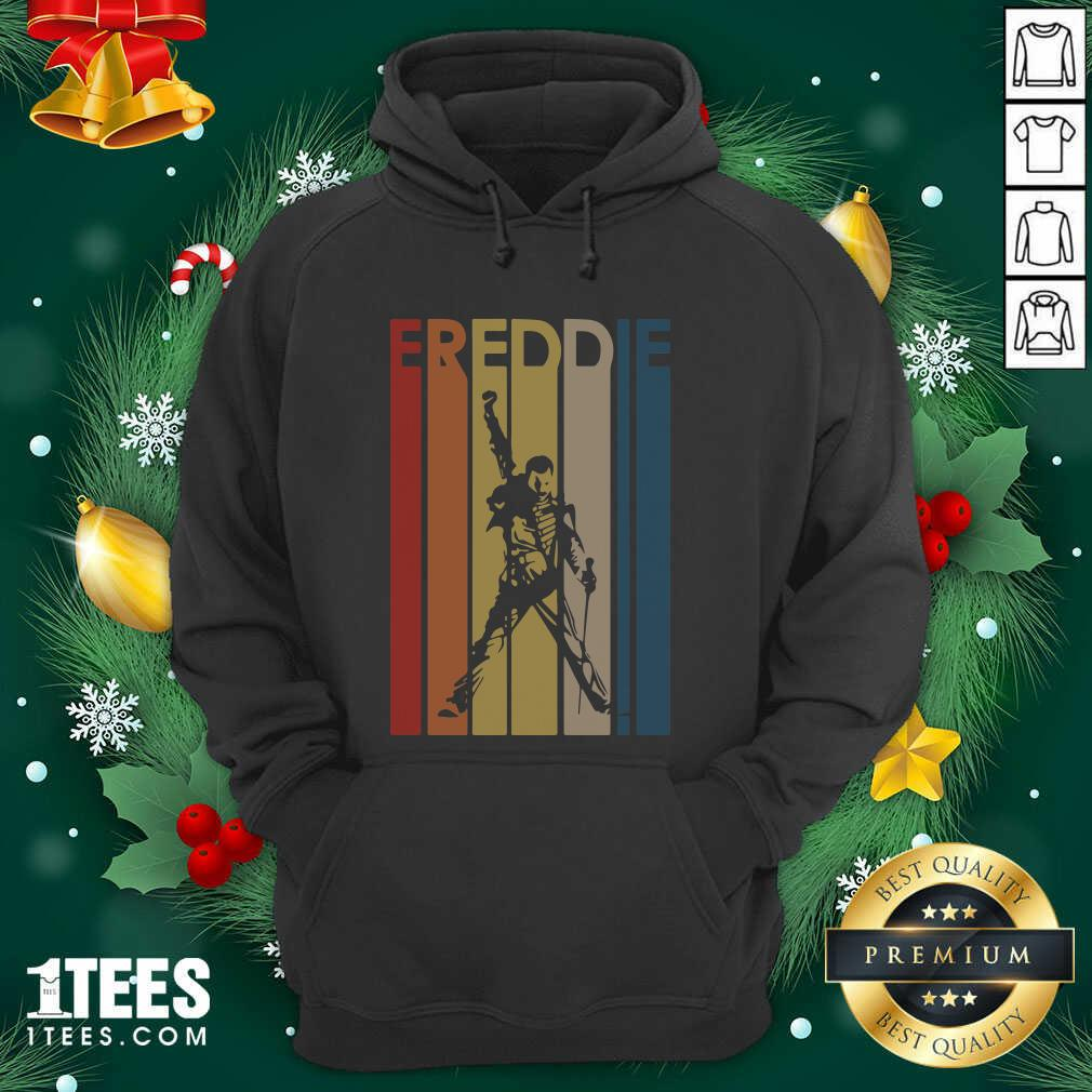 Freddie Mercury Vintage Hoodie- Design By 1Tees.com