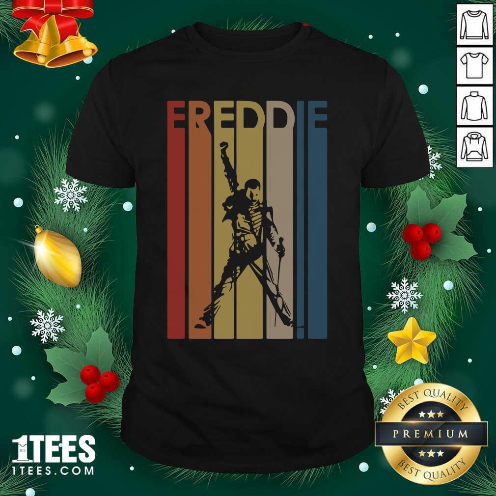 Freddie Mercury Vintage Shirt- Design By 1tees.com