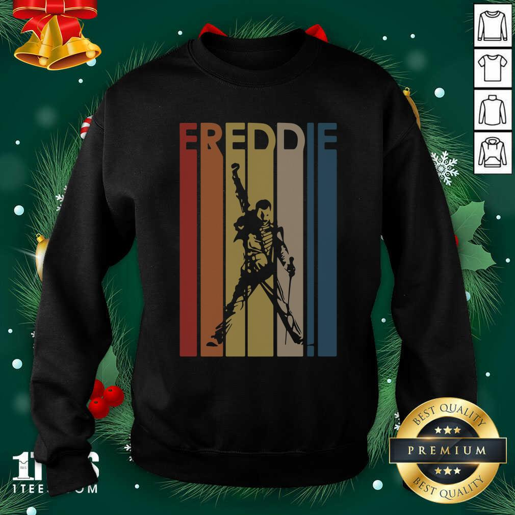 Freddie Mercury Vintage Sweatshirt- Design By 1tees.com