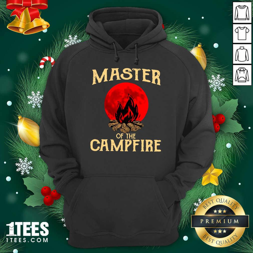 Master Of The Campfire Hoodie- Design By 1tees.com