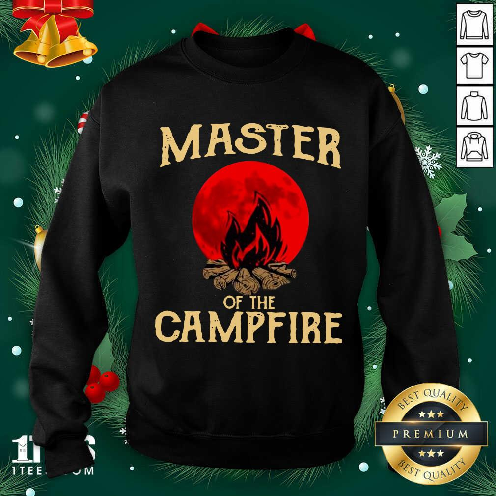 Master Of The Campfire Sweatshirt- Design By 1tees.com