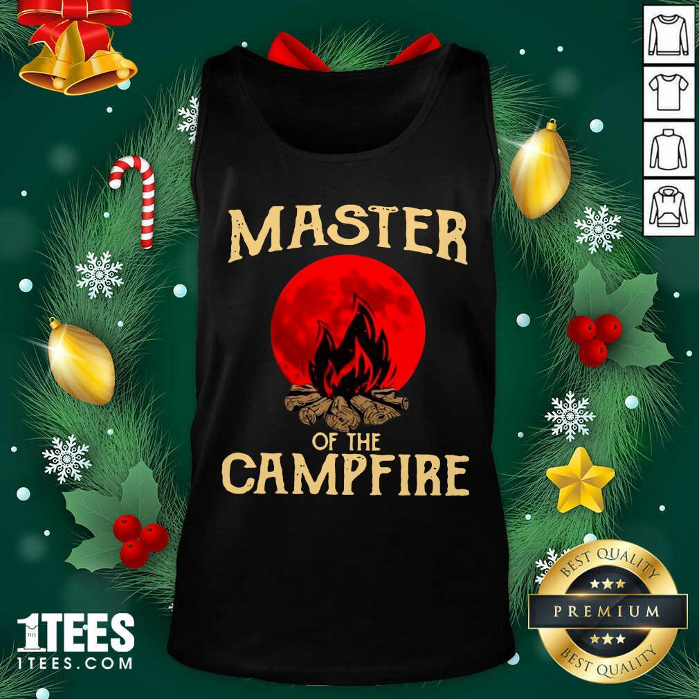 Master Of The Campfire Tank Top- Design By 1Tees.com