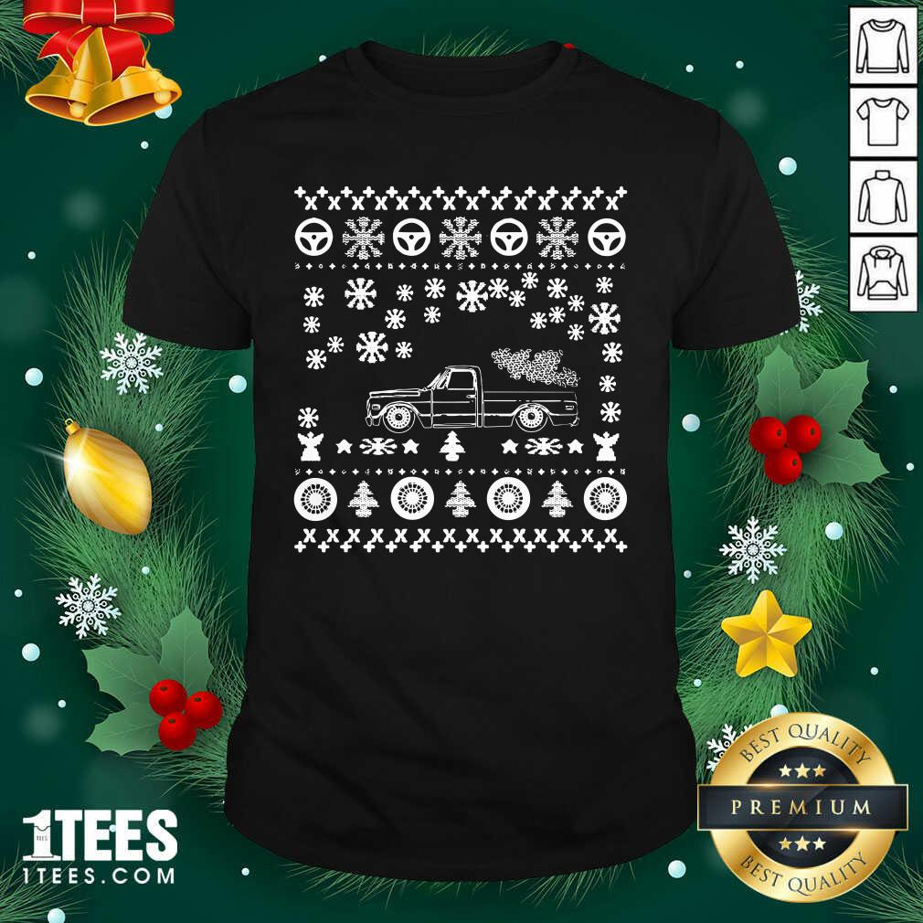 Tow Truck Ugly Merry Christmas Shirt- Design By 1Tees.com