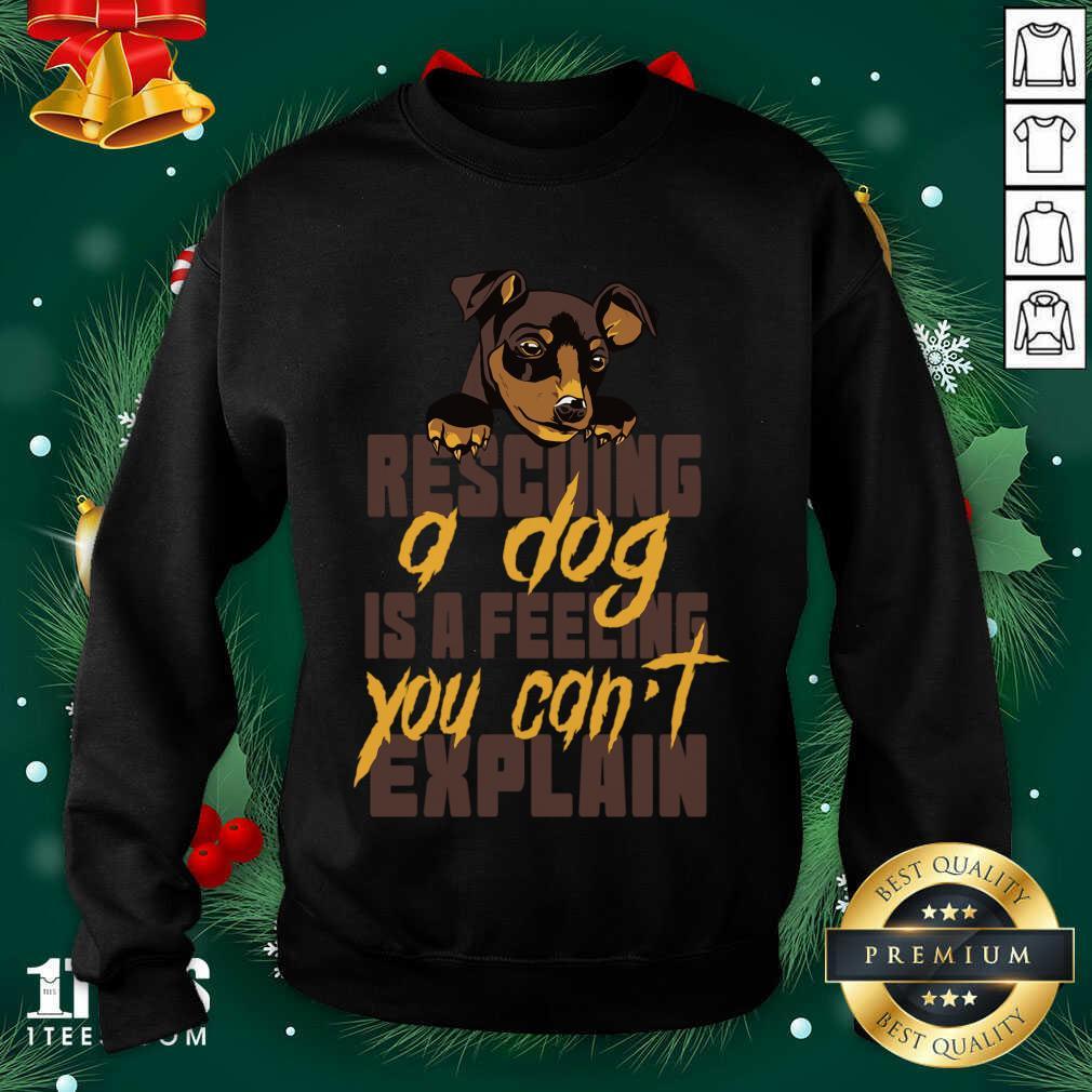 Animal Rescue Dog Rescue Sweatshirt- Design By 1Tees.com