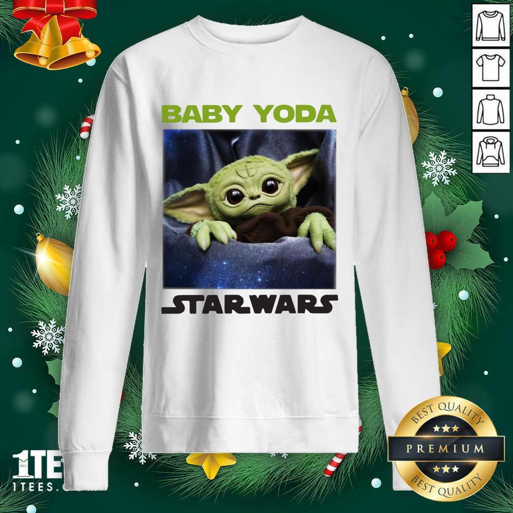 Baby Yoda Star Wars Sweatshirt- Design By 1Tees.com