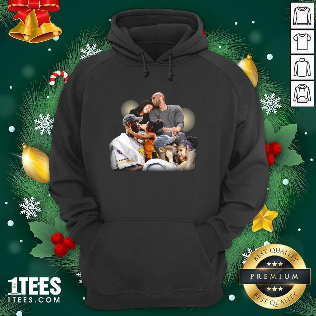 Lebron James Kobe Daughter Hoodie- Design By 1tees.com