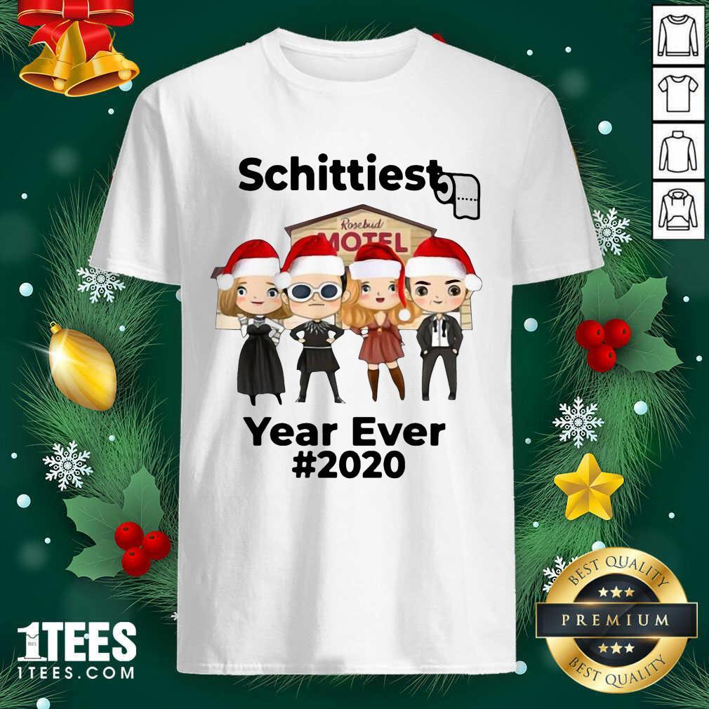 Schitts Creek Characters Chibi Schittiest Year Ever 2020 Christmas Shirt- Design By 1tees.com
