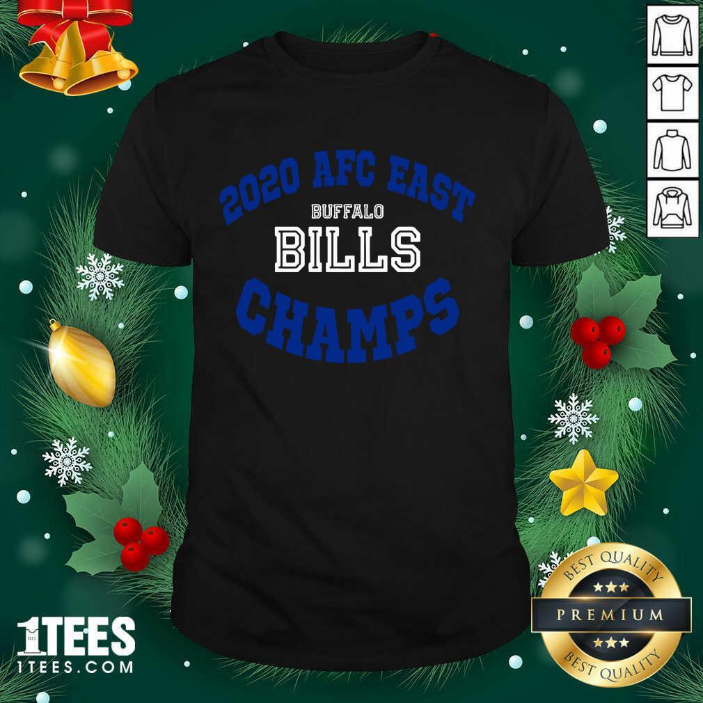 2020 Afc East Buffalo Bills Champs Shirt- Design By 1Tees.com