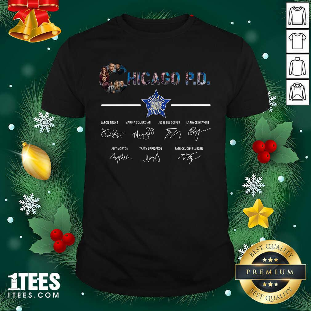 Chicago PD Signatures Shirt- Design By 1tees.com