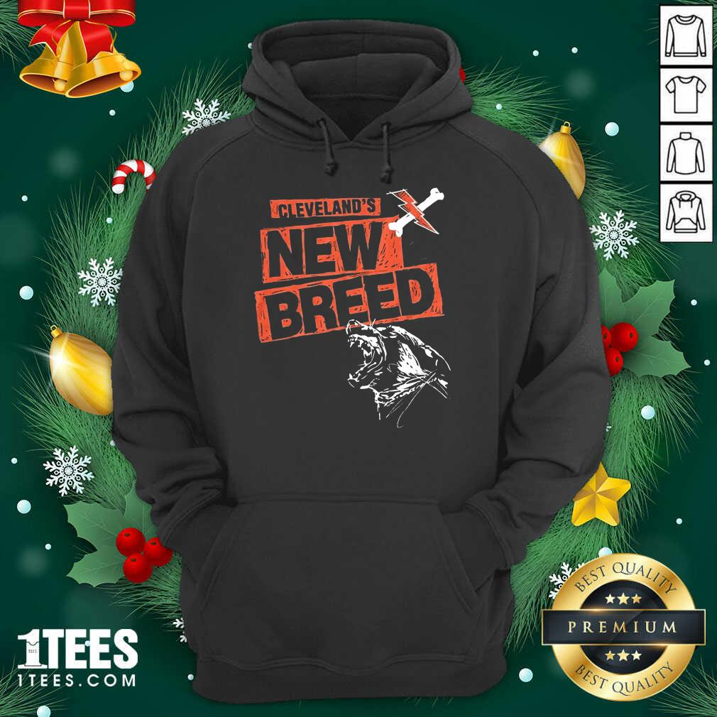 Cleveland Football New Breed Hoodie- Design By 1Tees.com
