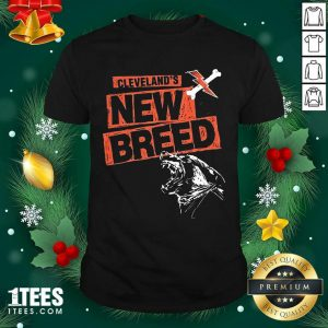 Cleveland Football New Breed Shirt- Design By 1tees.com