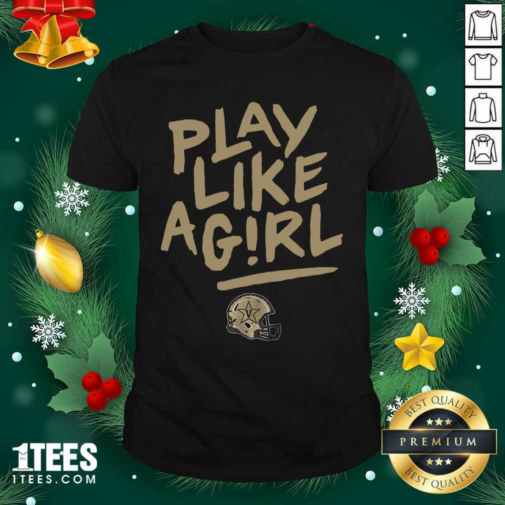 Play Like A Girl Shirt- Design By 1tees.com