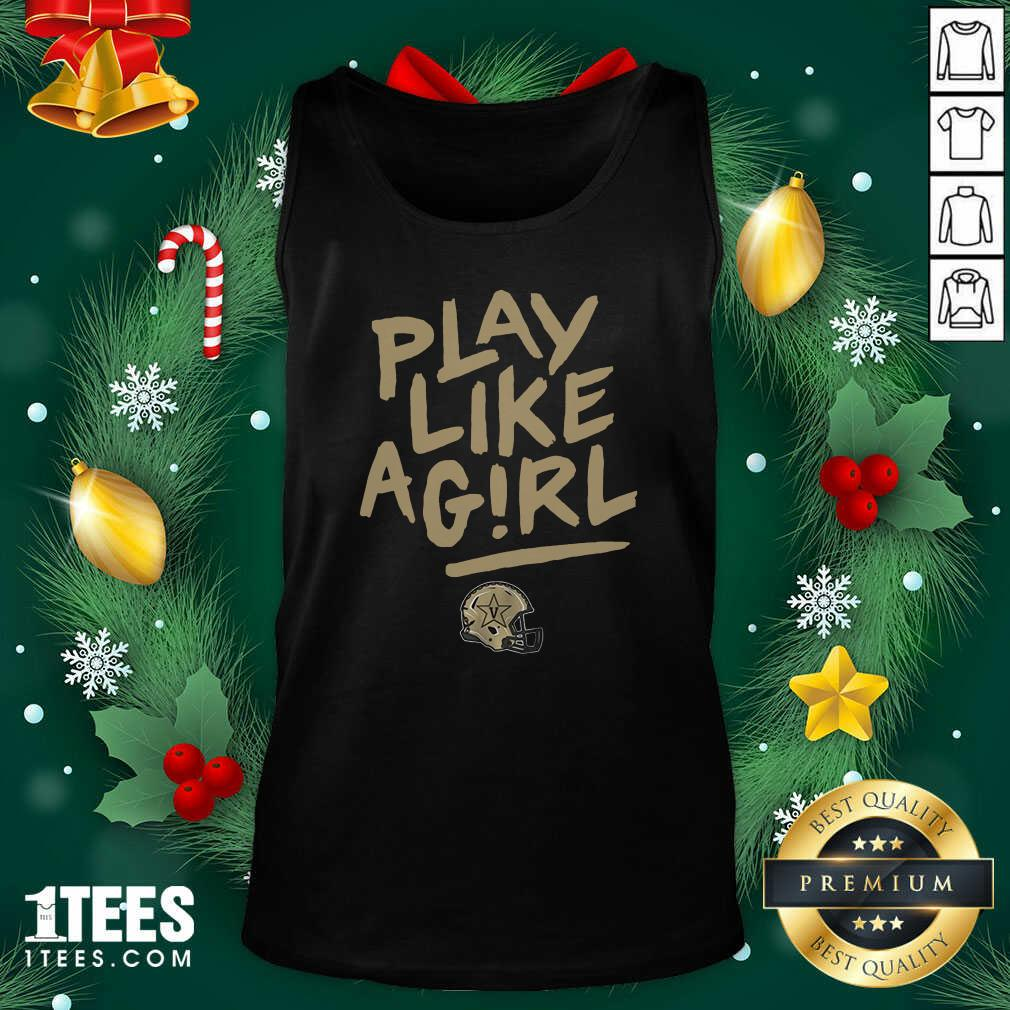 Play Like A Girl Tank Top- Design By 1tees.com