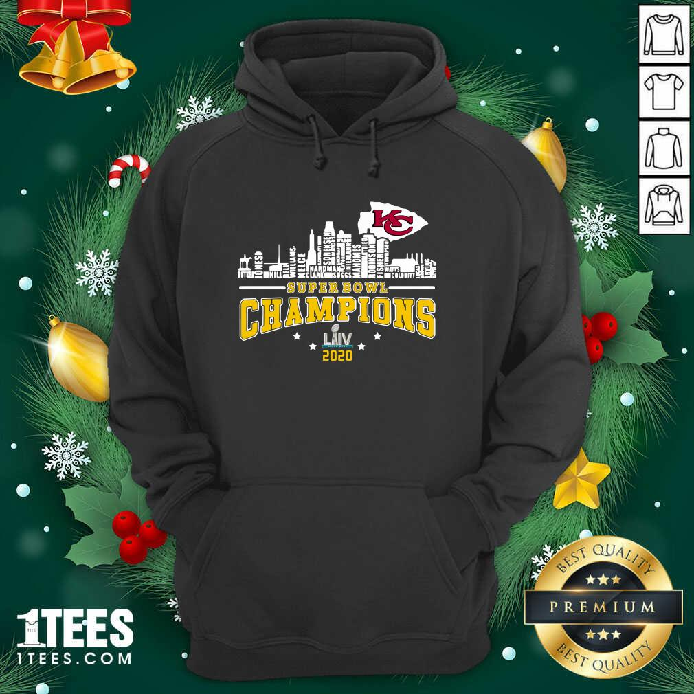 Super Bowl Champions 2020 Name Hoodie- Design By 1Tees.com