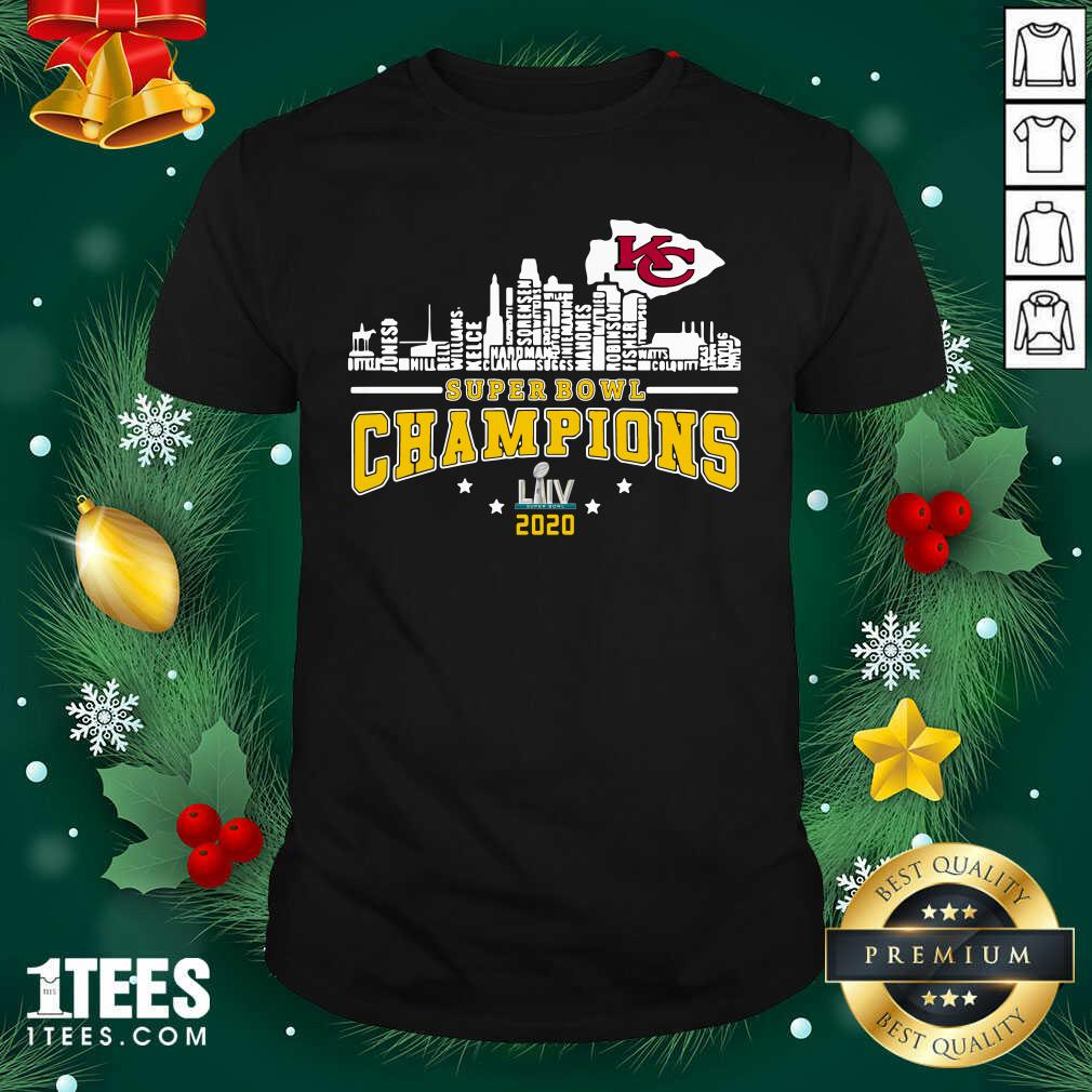 Super Bowl Champions 2020 Name Shirt- Design By 1Tees.com