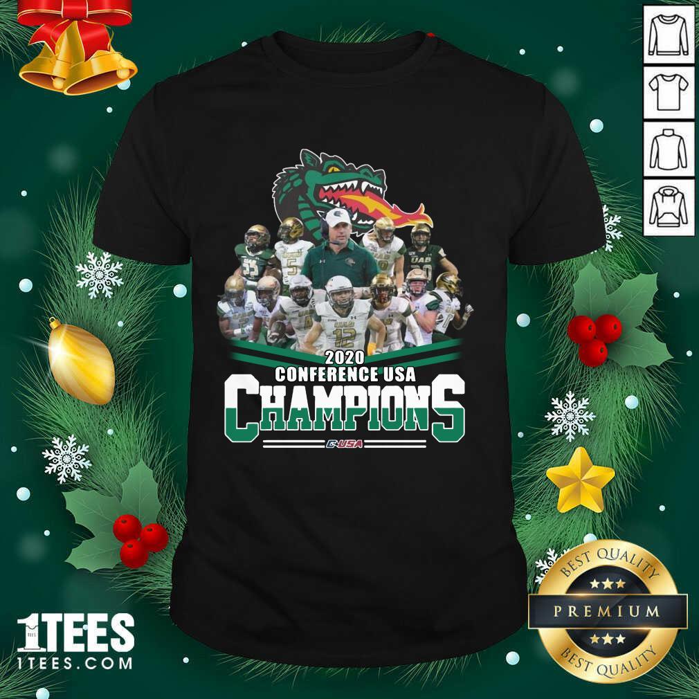 2020 Conference Usa Champions Usa Shirt- Design By 1Tees.com