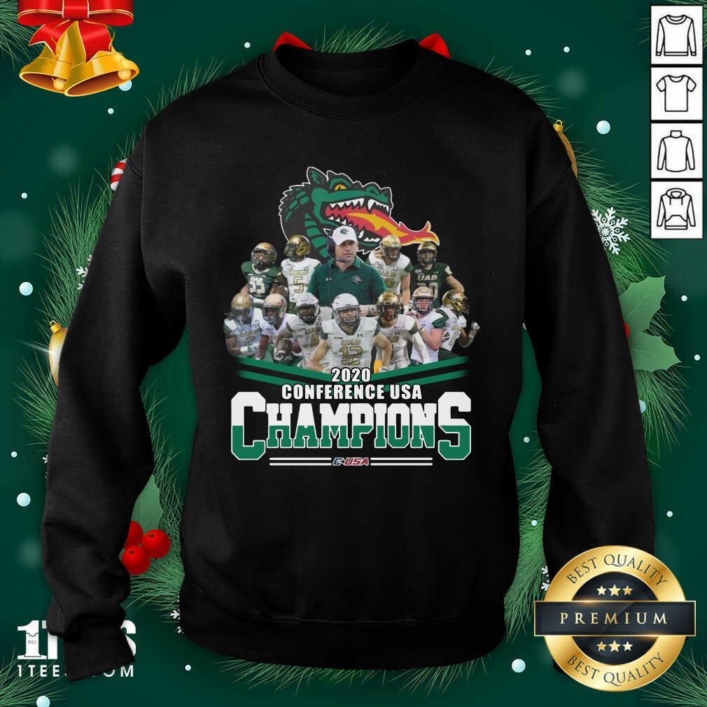 2020 Conference Usa Champions Usa Sweatshirt- Design By 1Tees.com