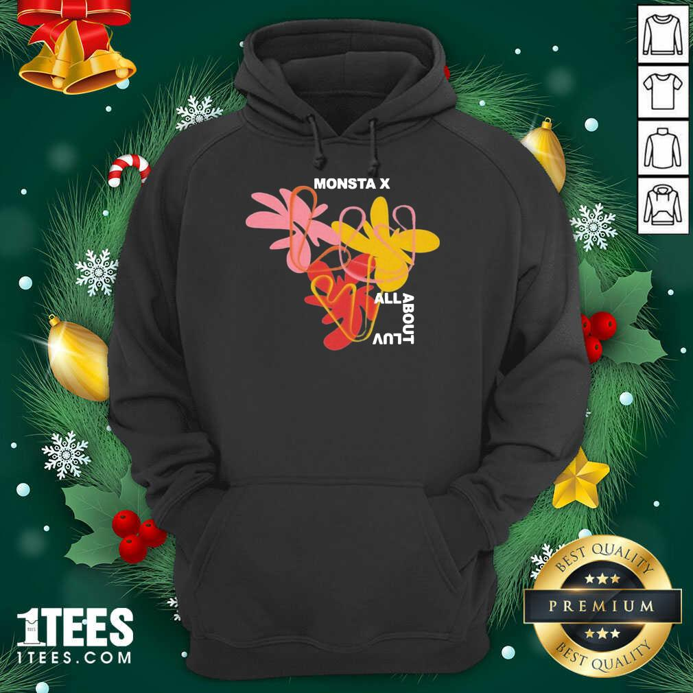 Monsta X Merch Monsta X Amorphous Hoodie- Design By 1Tees.com