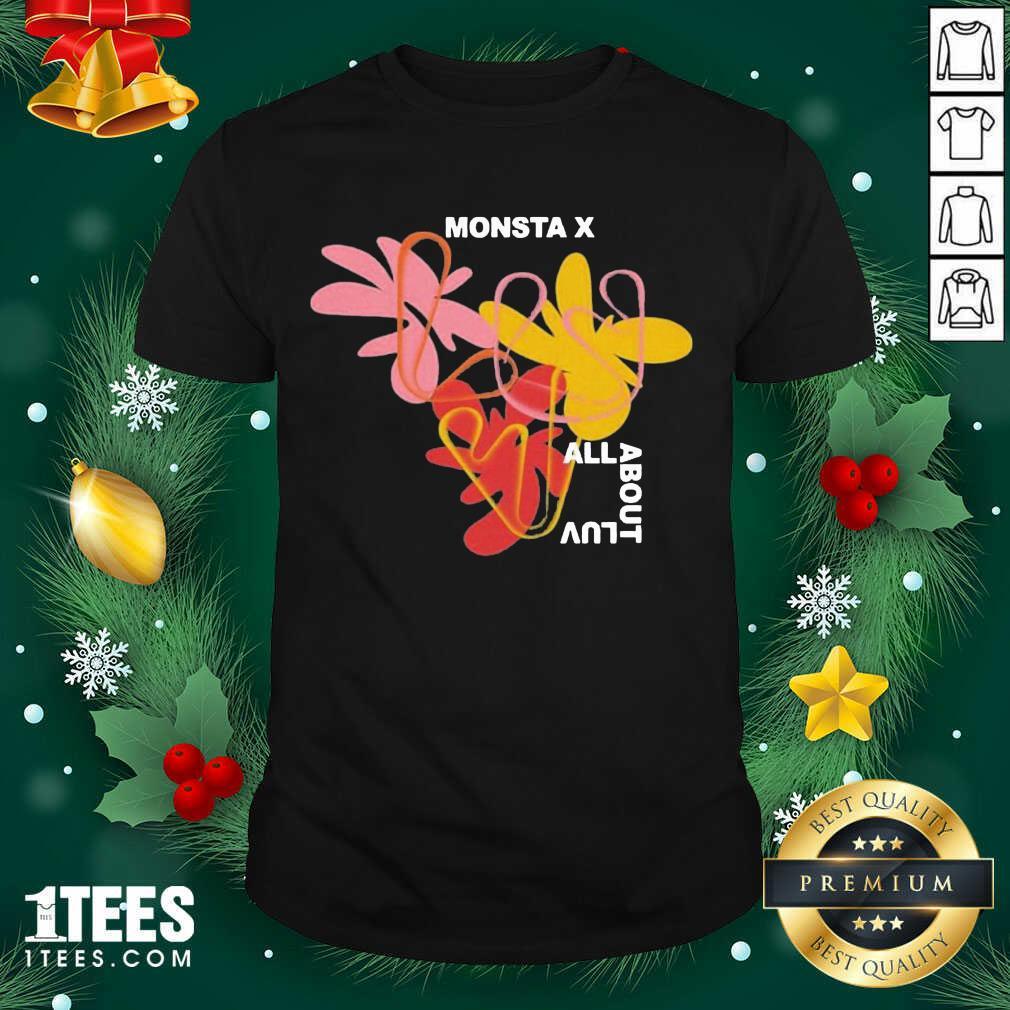 Monsta X Merch Monsta X Amorphous Shirt- Design By 1Tees.com