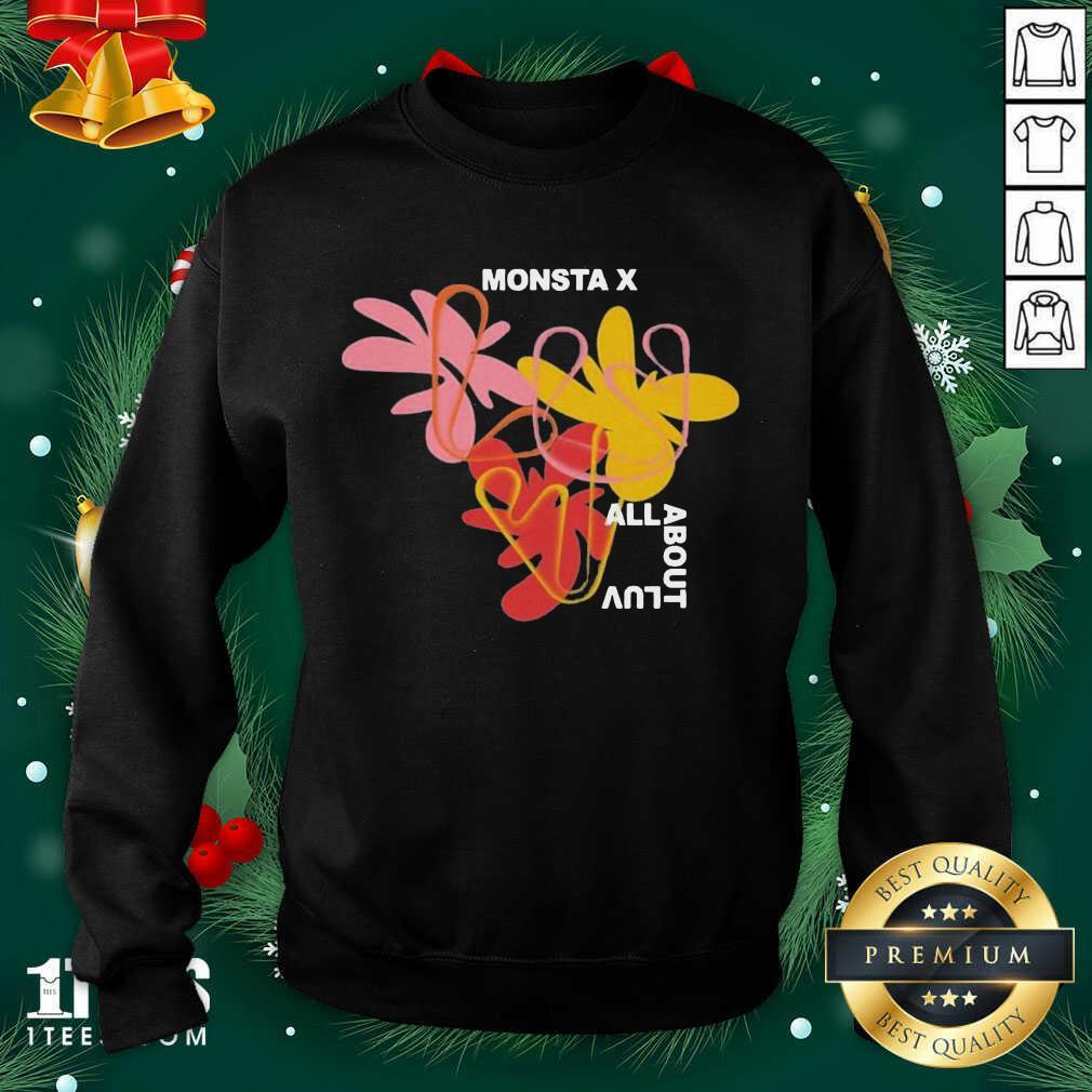 Monsta X Merch Monsta X Amorphous Sweatshirt- Design By 1tees.com