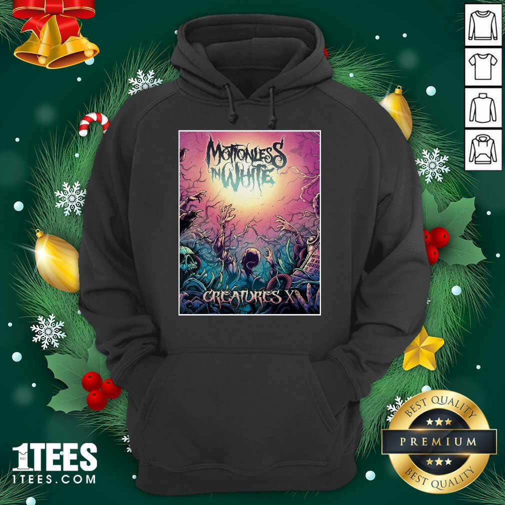 Motionless In White Merch Creatures Deadstream Hoodie- Design By 1tees.com