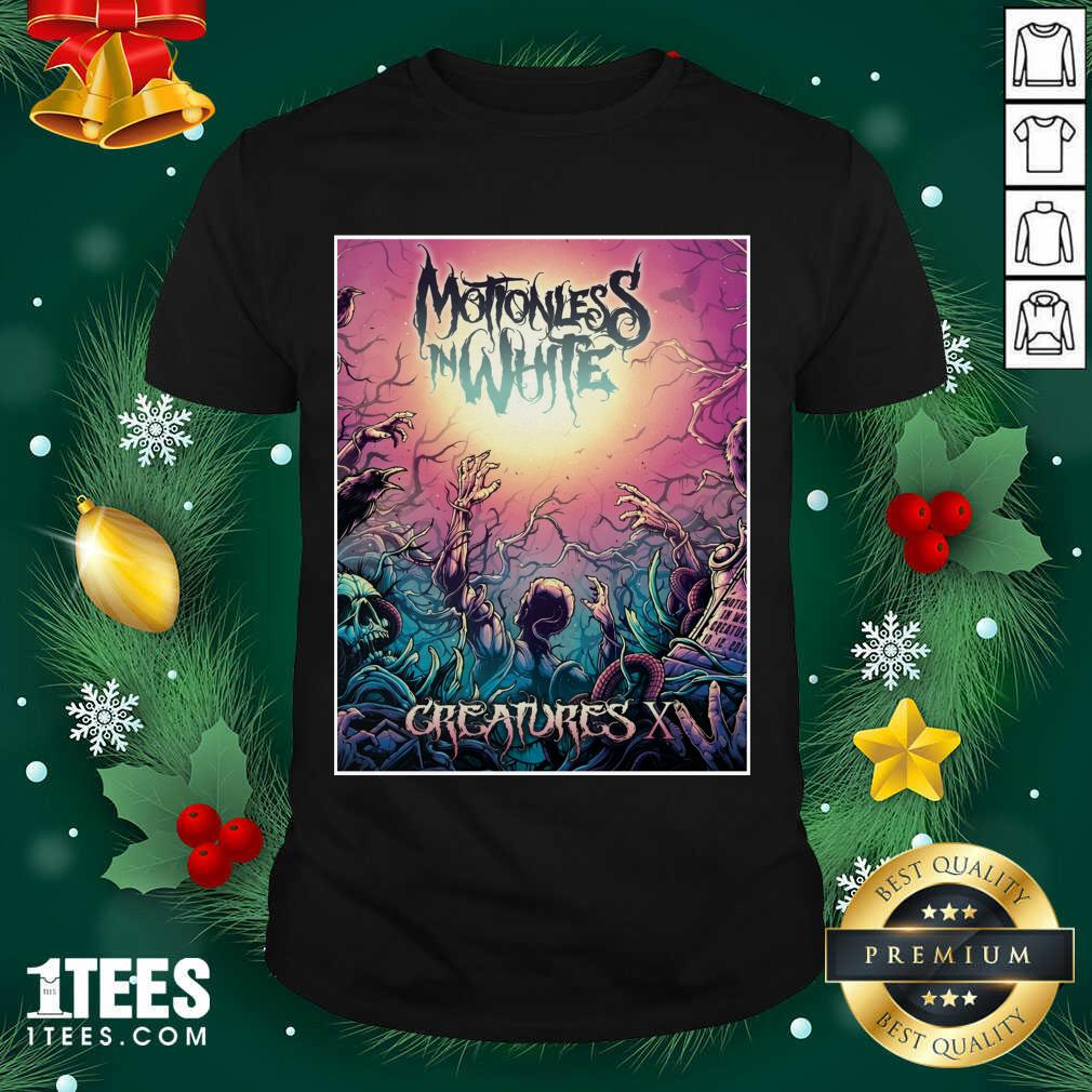 Motionless In White Merch Creatures Deadstream Shirt- Design By 1tees.com