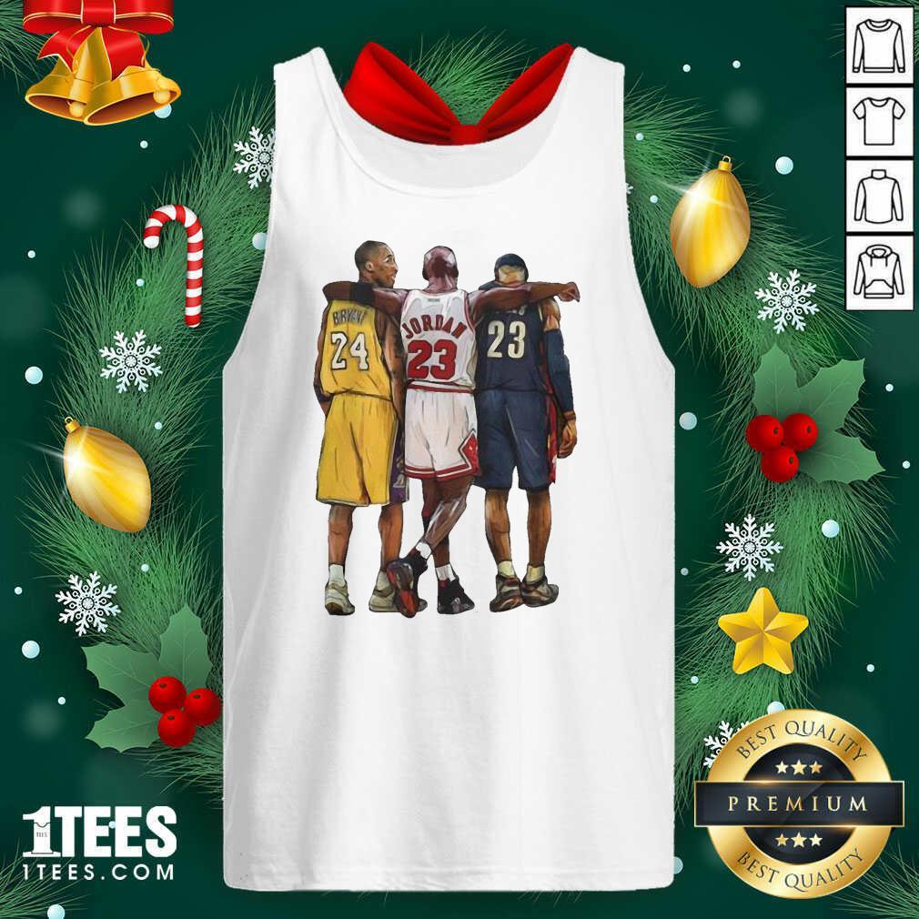 Nba All Stars Kobe Bryant Lebron James Michael Jordan Tank Top- Design By 1Tees.com
