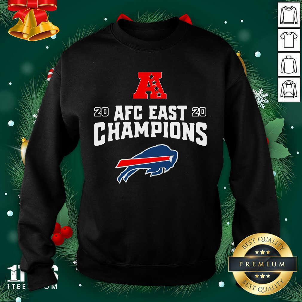 Buffalo Bills Afc East Champions Sweatshirt- Design By 1Tees.com