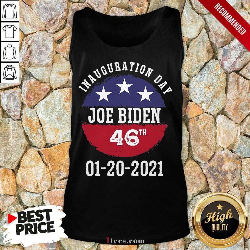 Joe Biden Inauguration Day 2021 46th President Tank Top