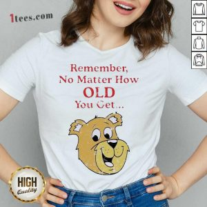 Scooby Doo Remember No Matter How Old You Get V-neck