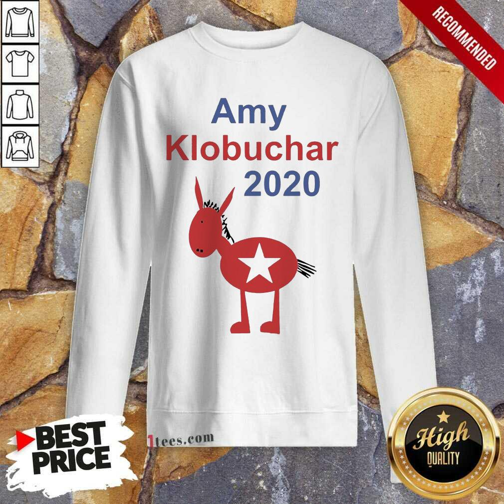 Amy Klobuchar 2021 Sweatshirt- Design By 1Tees.com