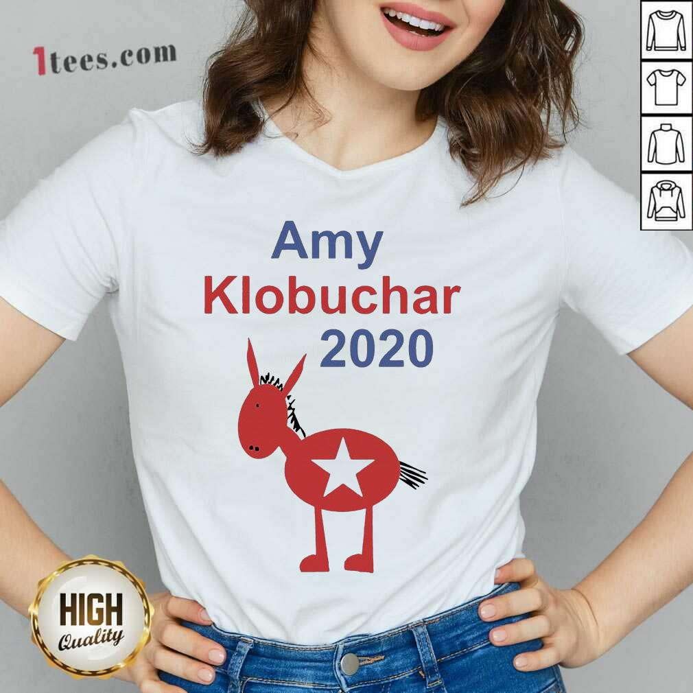 Amy Klobuchar 2021 V-neck- Design By 1tees.com