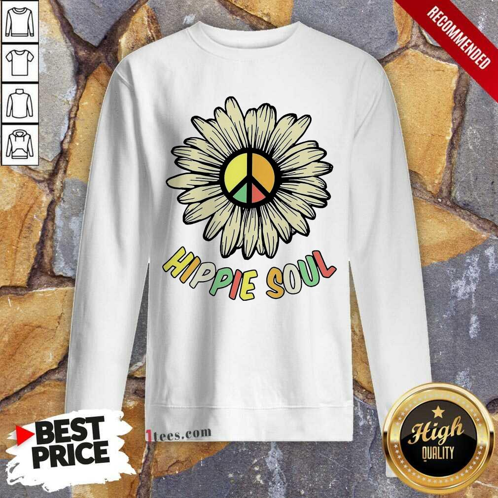 Hippie Soul Sweatshirt- Design By 1Tees.com
