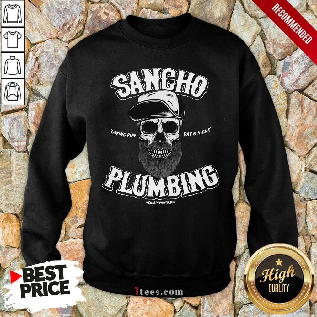 Sancho Plumbing Co Sweatshirt