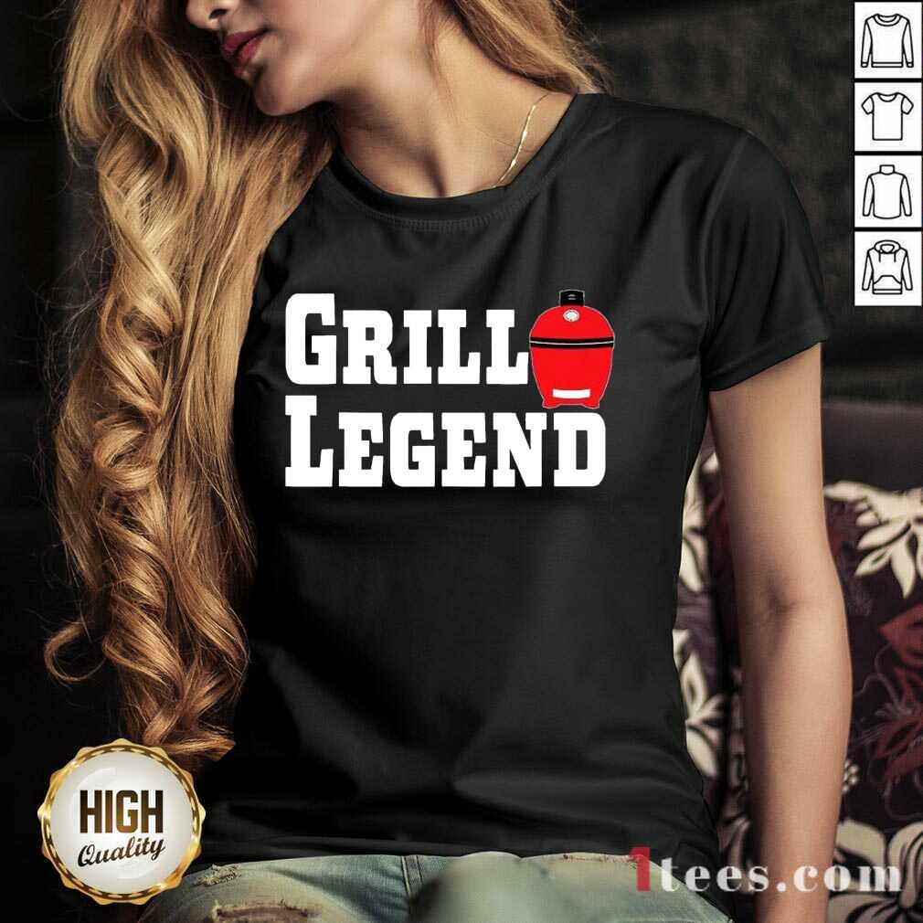 Grill Legend BBQ Tee V-neck