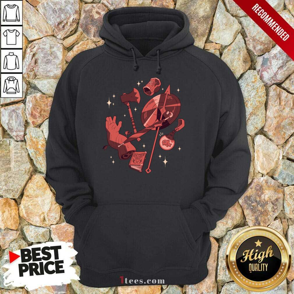 Mcelroy Merch Tres Horny Hoodie- Design By 1tees.com