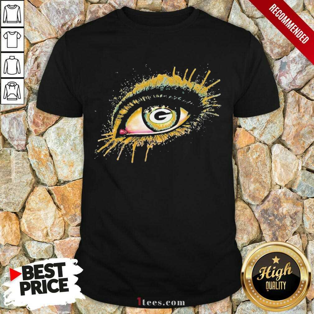 Eyes Green Bay Packers Shirt- Design By 1Tees.com