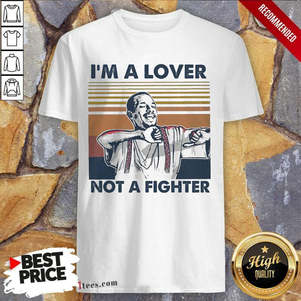 I Blood In Blood Out Cruzito Im A Lover Not A Fighter Vintage Shirt- Design By 1Tees.com