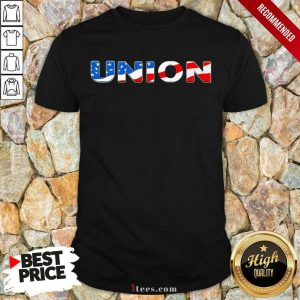 Union American Flag Shirt