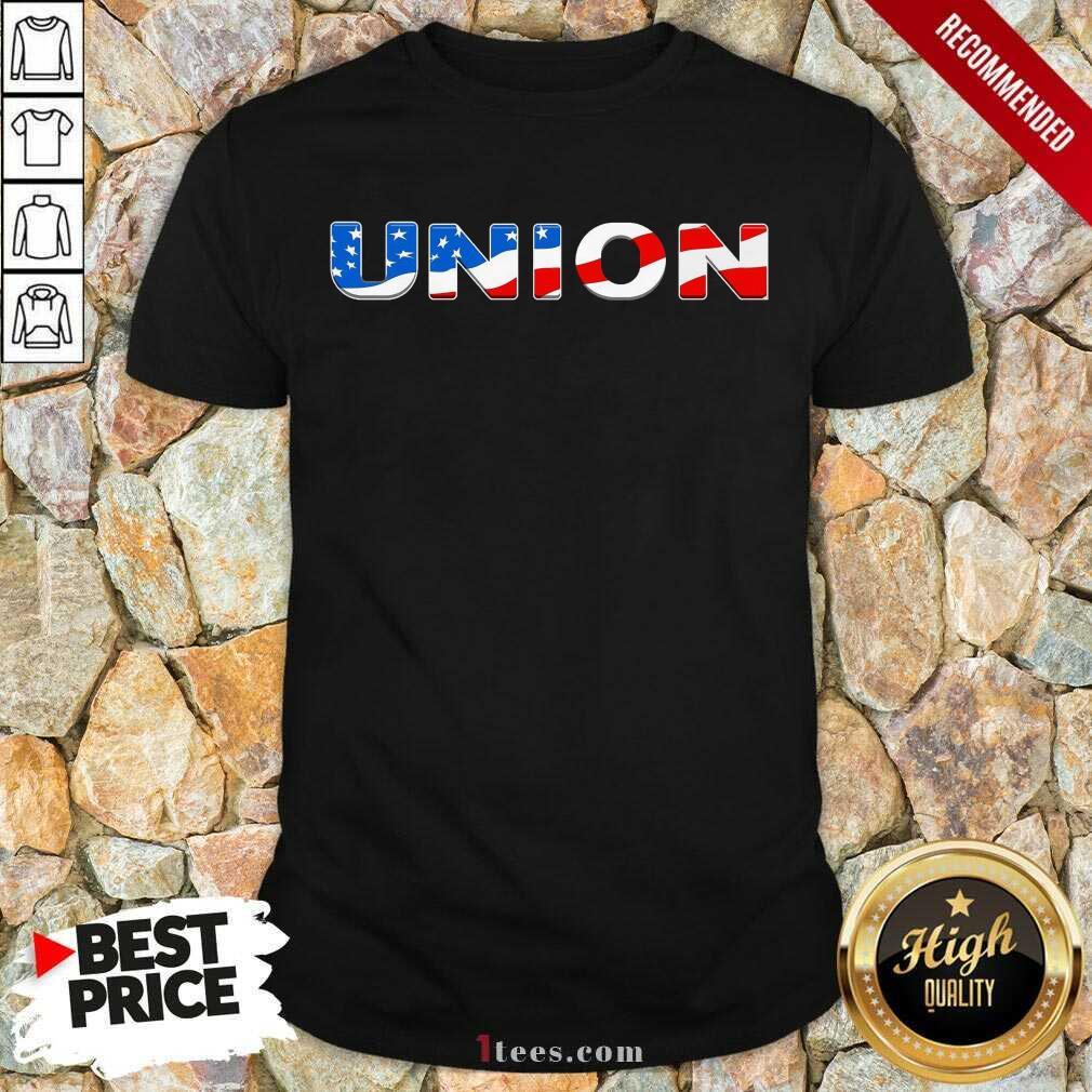 Union American Flag Shirt
